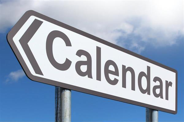 Calendar - Highway Sign image