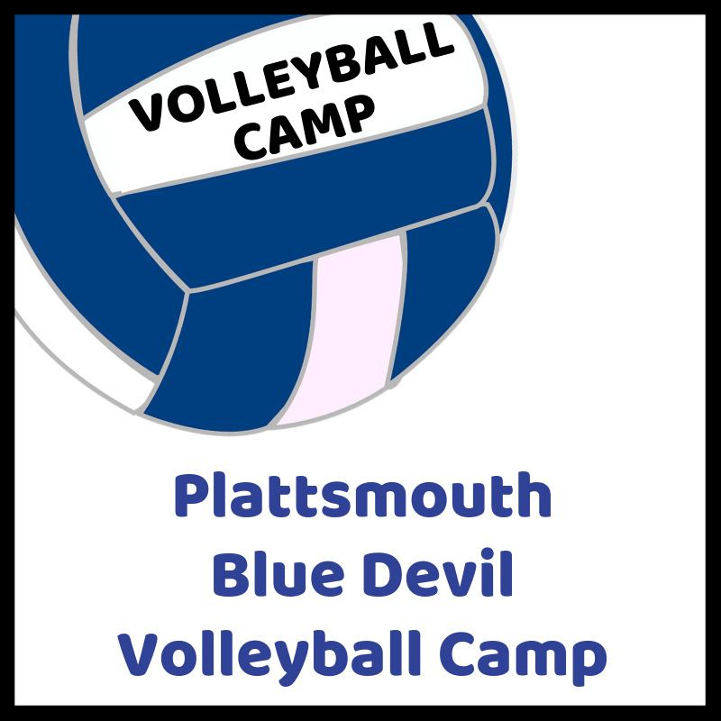 Plattsmouth Blue Devil Volleyball Camp