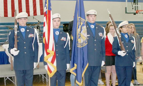 PCS AFJROTC EXCEEDS STANDARDS ON UNIT ASSESSMENT