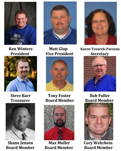 Congratulations to our 2020 Board of Education members and newly elected officers!