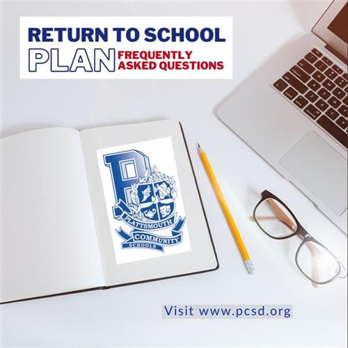 PCS Return to School Frequently Asked Questions (FAQ)
